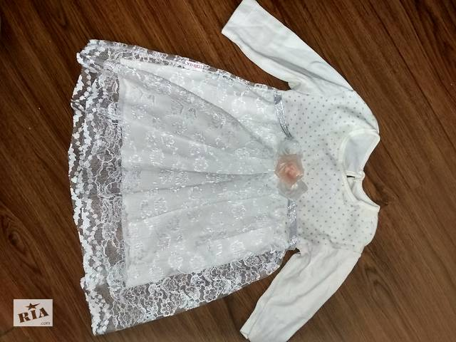 Продаю нарядное платье для девочки, б/у. Цена 120грн.