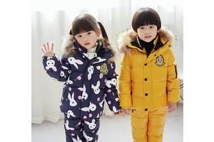 Новые Детские зимние куртки