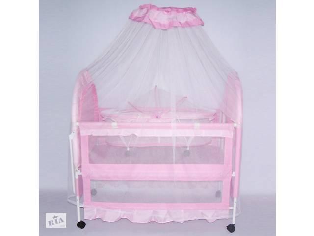 Кроватка детская металлическая с колесиками XG9136 ***- объявление о продаже  в Одессе
