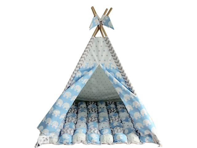 продам Вигвам Хатка комплект Арктика с ковриком Бонбон бу в Одессе