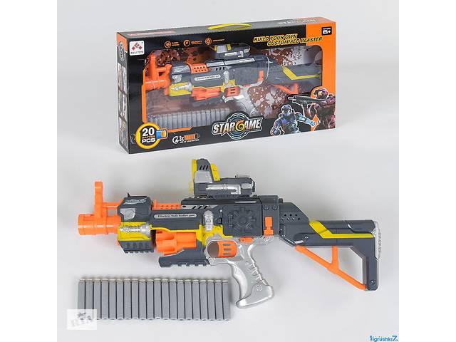 продам Автомат SB 418 (12/2) с мягкими пулями, звук, на батарейках, в коробке бу в Одесі