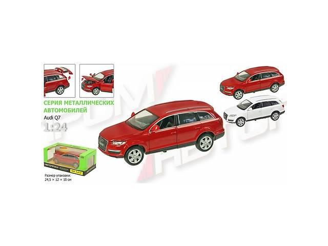 купить бу Автомодель металлическая машина Audi Q7 масштаб 1:24  АВТОПРОМ (68249A) в Чернигове