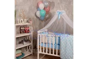 Балдахин Baby Design белый с голубым
