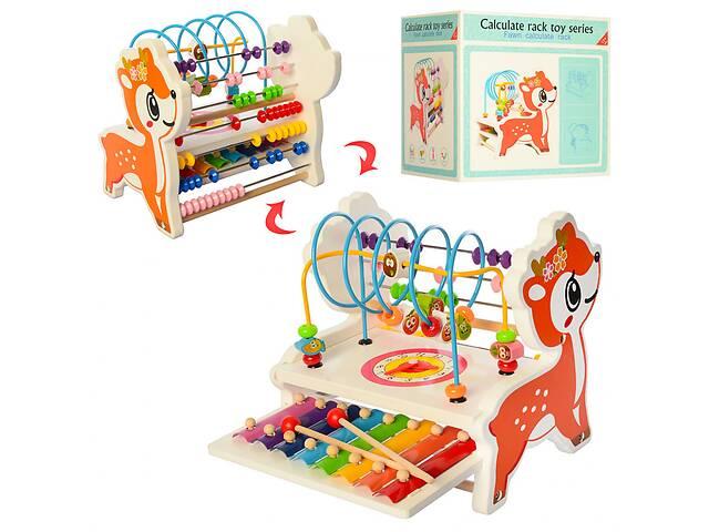 купить бу Деревянная игрушка Центр развивающий MD1543 в Одессе