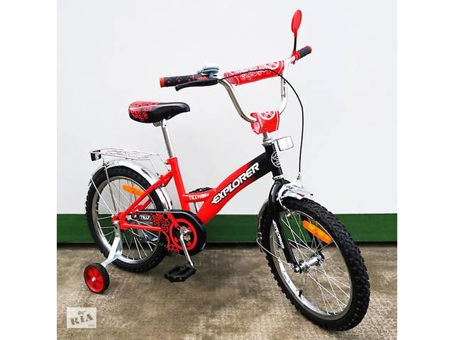 продам Дитячий двоколісний велосипед Baby Tilly T-21817 Red Black бу в  Хмельницькому d2861f53391c9