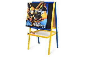 Дитячий двосторонній мольберт Bambi M 066 Transformers (з затиском для паперу, магнітна)