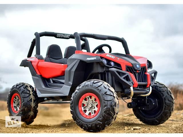 купить бу Детский электромобиль Buggy XMX-603, 4 мотора и 2 акум-ра в Львове