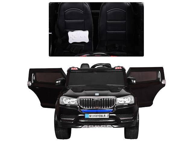 продам Детский электромобиль Джип M 3107EBLR-2 черный, 4 мотора,мягкие колеса бу в Одессе