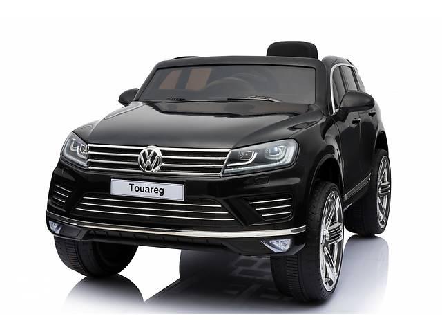 купить бу Дитячий електромобіль Volkswagen Touareg: шкір.сидіння і гум. колеса в Львові