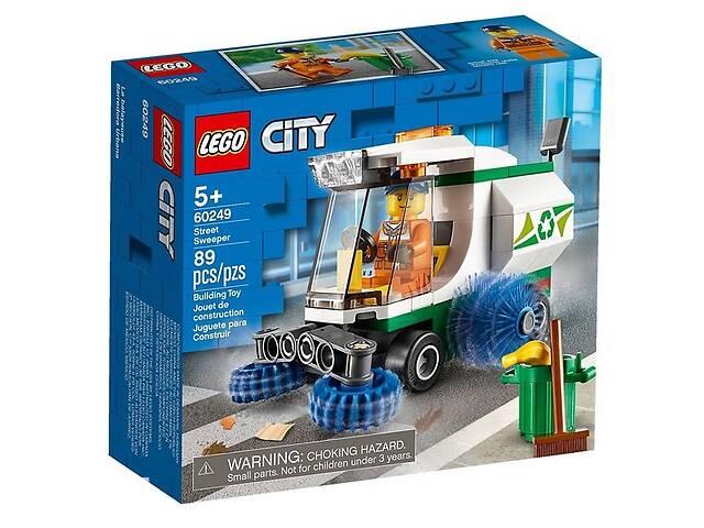 купить бу Конструктор LEGO City Машина для очистки улиц (60249 L) в Киеве