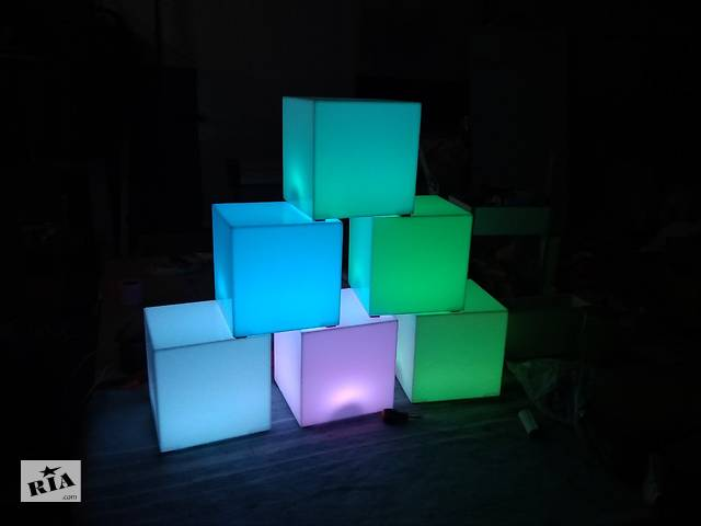 бу LED Светильник Куб 16 цветов + режимы TIA-SPORT в Одессе