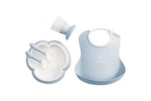 Набор детской посуды Baby Bjorn Baby Dinner Set Powder Blue (70067)