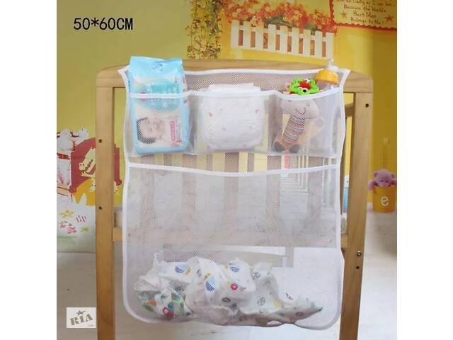 продам Органайзер - карман на детскую кроватку, манеж, подвесной, для вещей, игрушек. бу в Киеве