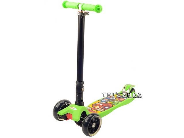 продам Самокат детский ScooteX Scooter Disney Premium Мстители бу в Киеве