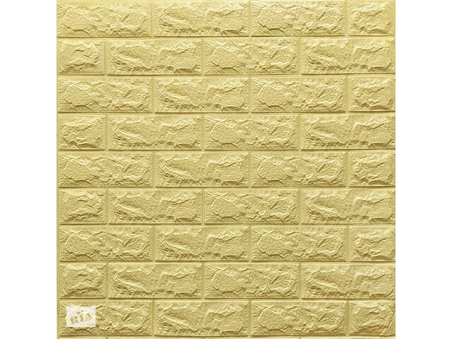 продам Самоклейка 3D панель жовто-пісочна цегла 700x770x7мм бу в Одессе