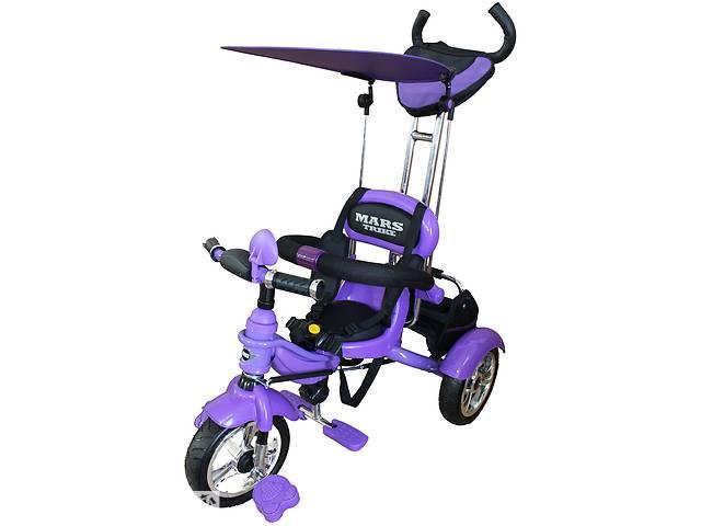 бу Велосипед 3-х колісний Mars Trike на надувних колесах (фіолетовий) в Броварах