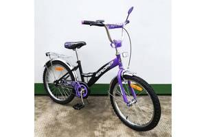 "Велосипед Tilly Explorer 20"" T-22019 black + purple"