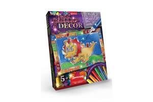 Набор для творчества витражная картина Glitter Decor 8149DT, 6 видов