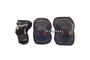 Защита для детей (наколенники, наладонники, налокотники) SkateX Armor L/XL черный