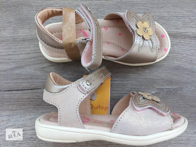 fb4877676 продам D.D.Step детские кожаные босоножки для девочки, фабричные, Венгрия  бу в Миколаєві