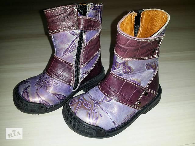 Кожаные ботиночки р.21 - Детская обувь в Нововолынске на RIA.com 41516f52d64f9