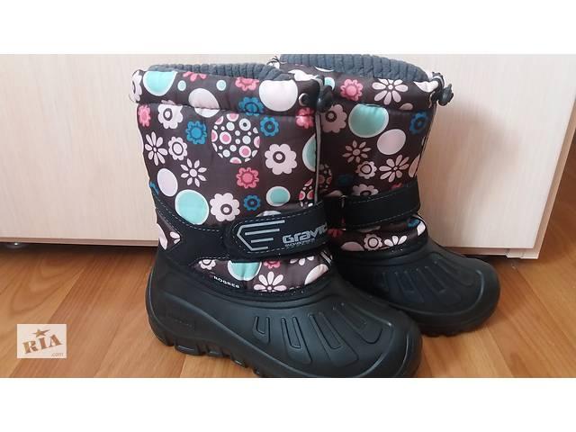продам Термо сапожки для девочки со съемным носком бу в Павлограде