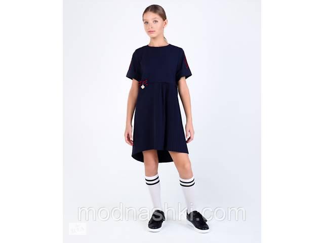 Брендовое школьное платье  Моне (синее) р-р 152,158 158- объявление о продаже  в Киеве