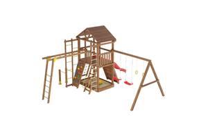 Дерев'яні дитячі ігрові майданчики і комплекси