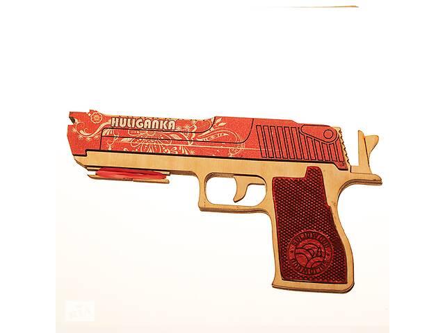 Дерев'яний резинкостріл DaisySign HULIGANKA (red)- объявление о продаже  в Одессе