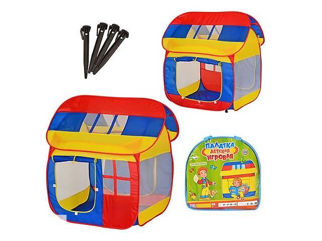 бу Детская игровая палатка M0508 Домик в сумке из водоотталкивающей ткани размер 110*92*114 см в Одессе