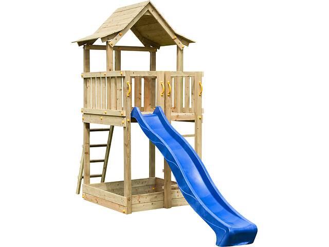 Детская игровая площадка KBT Blue Rabbit PAGODA Синий