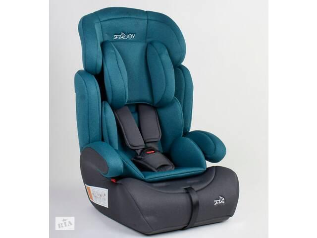 купить бу Детское автокресло JOY 82406  универсальное, группа 1/2/3, вес ребенка от 9-36 кг, синие в Одессе