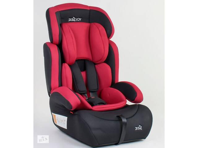 купить бу Детское автокресло JOY 94926 универсальное, группа 1/2/3, вес ребенка от 9-36 кг, красное в Одессе