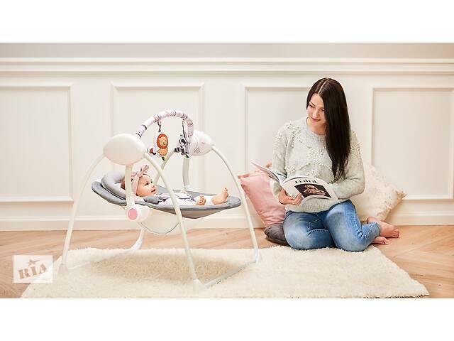 Детское кресло-качалка Lionelo RUBEN STONE GREY- объявление о продаже  в Одессе