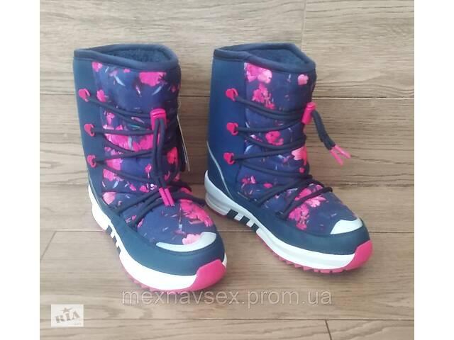 продам Детские сапоги дутые Adidas SENIA BOOT. Дутики M20579. Оригинал бу в Львове