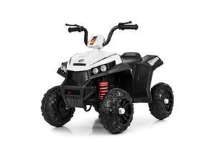 Детский электрический квадроцикл BAMBI M 4131E-1 белый