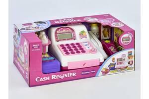 Детский кассовый аппарат  LF 986 D со сканером, продуктами