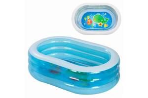 Детский надувной бассейн Intex 57482 «Нежность», 163 х 107 х 46 см