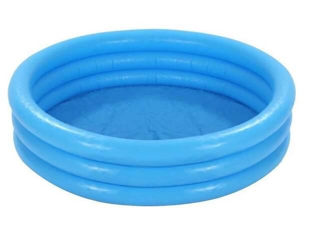 бу Детский надувной бассейн Круг Intex на 173 литра, голубой в Киеве