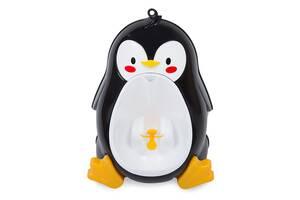Детский писсуар-горшок PottyFrog Пингвин Черный (PF-07)