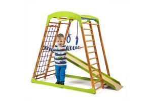 Детский спортивный комплекс для дома SportBaby BabyWood