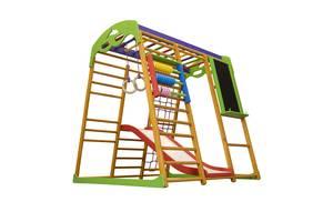 Детский спортивный комплекс для квартиры SportBaby Карамелька Plus 7