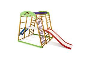 Дитячий спортивний комплекс для квартири SportBaby Карамелька Plus 2