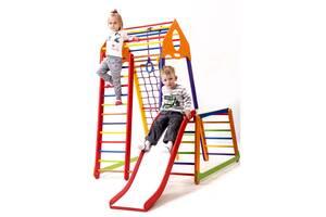 Дитячий спортивний комплекс SportBaby BambinoWood Color Plus 1-1
