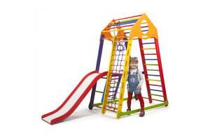 Дитячий спортивний комплекс SportBaby BambinoWood Color Plus 2