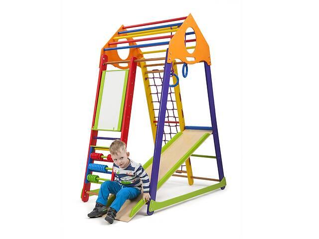 продам Детский спортивный комплекс SportBaby BambinoWood Color Plus бу в Одесі
