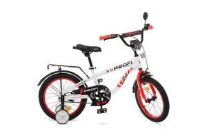 Детский велосипед Profi Space T 18154 18 дюймов бело-красный