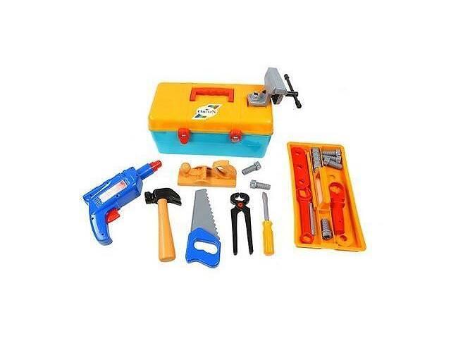 бу Детский игровой набор инструментов Orion Маленький столяр, в чемодане. Интересный подарок для мальчика в Киеве