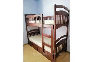 Двухъярусная кровать Карина с ящиками +матрасы.  Акция!