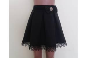 Детская школьная юбочка на резинке «Арка», модель № 41